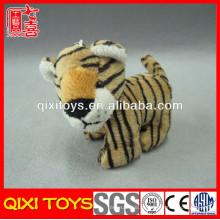 Keychain luxuoso bonito feito sob encomenda do tigre do luxuoso do tigre do luxuoso & do recheio