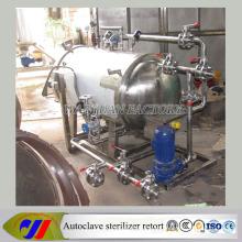 Equipamento de esterilização de aquecimento elétrico para alimentos