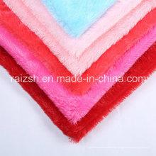 Bright Color Pile tecidos de malha PV Fleece com preço barato
