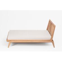 Muebles de dormitorio de cama de madera de roble FAS