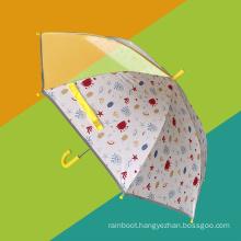 Reflective Safe Hand-Protected Design Cartoon Kids Umbrella