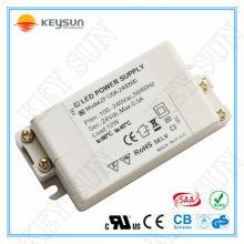 Transformateur de conducteur sans fil Zv120-2400500 ac / dc 24v 500 mA 12w avec conformité UL CE SAA