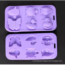 Various Shape Silicone Chocolate Molds Animals Ice Tray