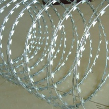 Tipo de cruz Razor Wire / Arame farpado / Razor Barbed Wire