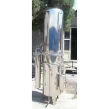 Machine de distillation d'eau en acier inoxydable haute efficacité 500L