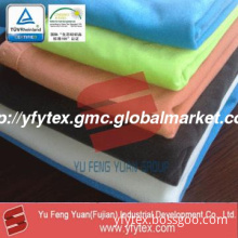 100%polyester one-sided brushed tricot knit fabric