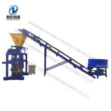 vibration press QT4-35b concrete block brick making machine for sale in ghana