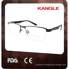 2017 half-rim optical frame china eyewear manufacturer