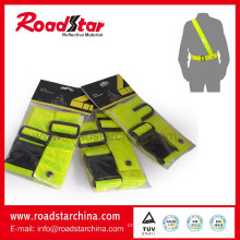 PVC high visibility reflective safety waist belt and sam browne