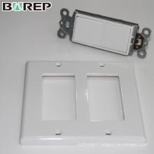 YGC-009 NEMA Standard GFCI prise de courant LED plaque d'interrupteur de lumière