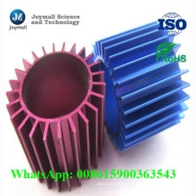 Custom Aluminum Anodizing Colorful Heatsink Pipe for Cool Tower Part