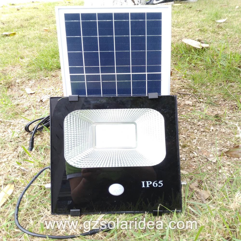Solar flood infrared flood light