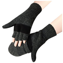 Lovely Snow Pattern Wool Knitting Touch Screen Gloves