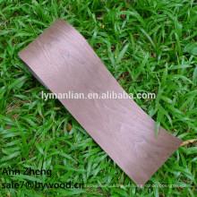 chapas de madera contrachapada chapa de madera de nogal negro natural
