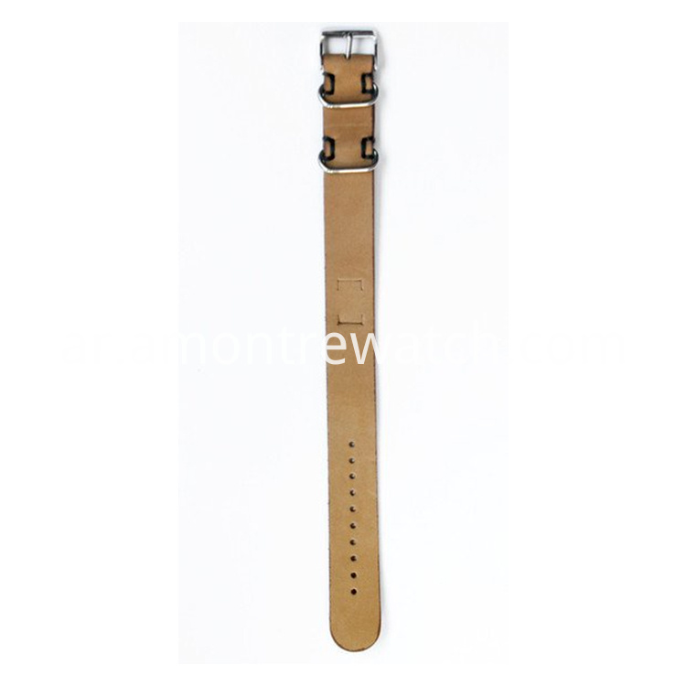 wood watch strap