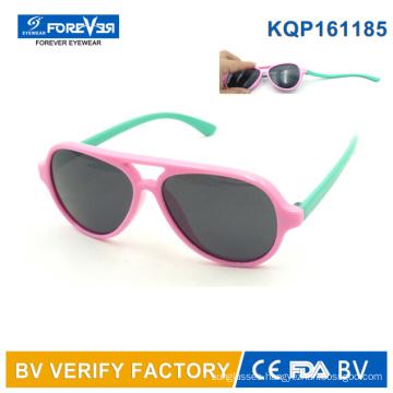 Kqp161185 Good Quality Children′s Sunglasses Soft Frame