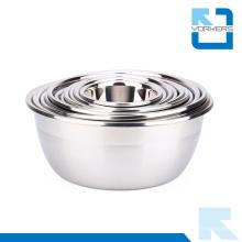 Multi-Size aço inoxidável de alta qualidade Mixing Bowl Seasoning Pot