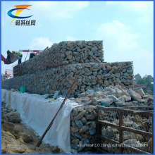 Gold Supplier Exporter Anti-Flooding Galvanized Gabion Basket Price