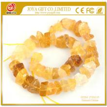 Natural Raw Rough Citrine Beads no polished