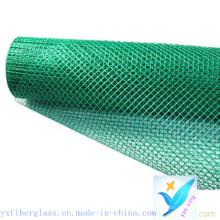 10mm * 10mm 100G / M2 Fiberglass Net pour mur