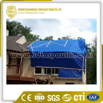 PVC Roof Cover Coated Tarpaulin Sheet