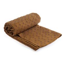 Yugland Wholesale Machine Washable sublimation yoga mat towel non slip