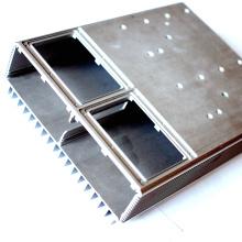 Dissipateur thermique en aluminium d'usinage CNC de précision profonde