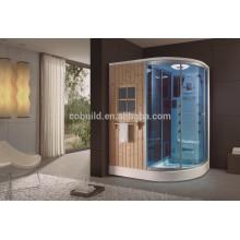 Sala de ducha húmeda del vapor de la habitación de la sauna del vapor portátil de la persona K-705one con sauna seca