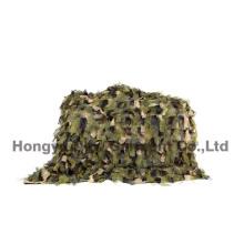 Rede de camuflagem com Selvedge da corda, rede do camo da cor do deserto (HY-C010)