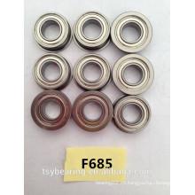 Rodamiento de bolas con brida miniatura f685