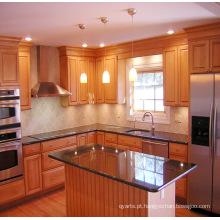 Armários de cozinha de madeira sólida padrão americano