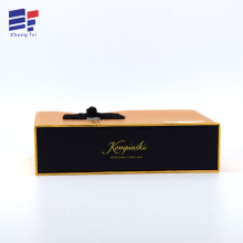 OEM  Foldable book shape wine gift Box