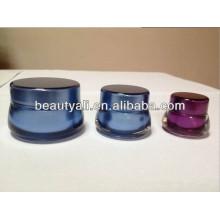 7ml 15ml 30ml 50ml Embalagem Cosmética Acrílico Frasco plástico cosmético