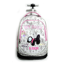 High Quality Student Large Capacity Wheeled Backpack Waterproof Trolley Bag For Kids School