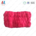 Basic hot pink headband sponge