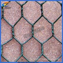 PVC revestido de pedra Gabion cesta