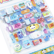 Crianças DIY Espuma Dos Desenhos Animados Animal Etiqueta Brinquedos Pessoal Quebra-cabeça de Papel Vinil Kid Putty Adesivos