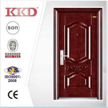 Популярный дизайн жилых стали вступления двери KKD-103 в Китае передней двери