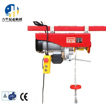 PA mini electric hoist with trolley 200-1200kg