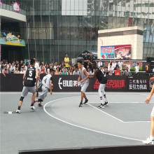 FIBA 3X3 Bola Keranjang Interlocking Court Mat