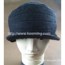 Winter Warm Rib Army Hat