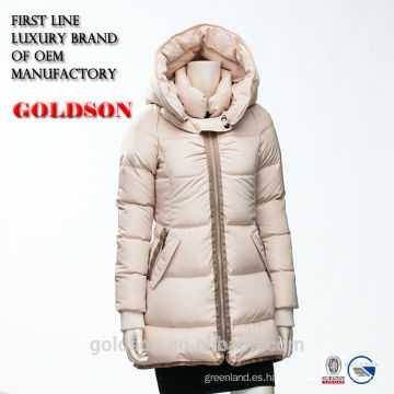 2017 Mujer Confortable Goose Down Jacket