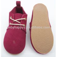 Обувь Red Kids toddler с крепкой подошвой из детской кожи