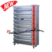K763 3/6/9 Layer Electric Chicken Rotisserie