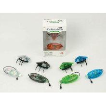 5 cores rc infravermelho bug brinquedo, insetos solares brinquedo