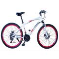 Bicicleta MTB com tubulação de quadro superior direto