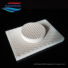 cordierite infrared honeycomb ceramic plate for grill