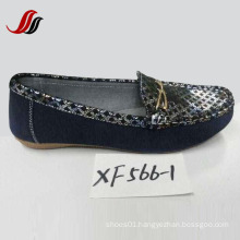 Latest Lady Loafer Shoes Leisure Leather Shoes (XX562-1)