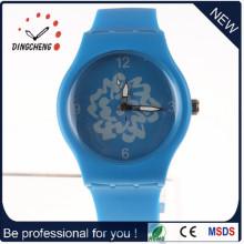 Nuevo reloj azul del cuarzo del encanto del estilo (DC-997)