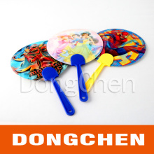 Two Side 3D Lenticular Image Fan with Handle as Gift